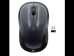 Logitech M325 910-002974 Black Tilt Wheel USB RF Wireless Optical Mouse