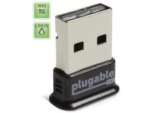 Plugable USB Bluetooth 4.0 Low Energy Micro Adapter (Windows 10, 8.1, 8, 7, XP, Raspberry Pi, Linux Compatible&#59; Classic Bluetooth, and Stereo Headset Compatible)