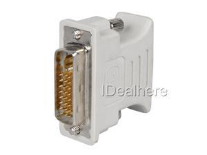 DVI-I(24+5) M to VGA Monitor F Converter Adapter