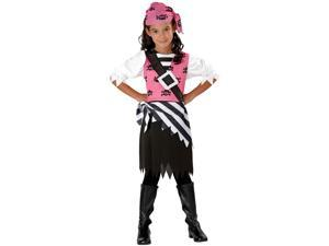 Punky Pirate Girls Kids Costume