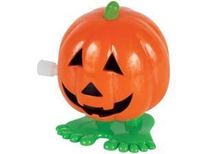 Loftus  Jumping Pumpkin Jack O Lanterns Wind-Up Toys 12 Pack Orange