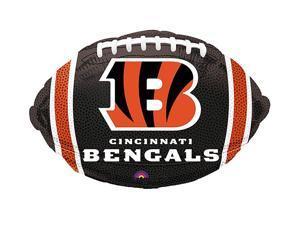 """Anagram Cincinnatti Bengals Football NFL Playoffs Decor 21"""" Foil Balloon"""