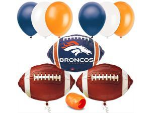 Denver Broncos Football Balloon Decorating Super Bowl Party Pack 10pc