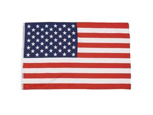 Rinco Classic Patriotic 4th of July American  3' x 5'  Flag, Red White Blue