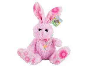 "10"" Plush Easter Bunny With Bendable Ears Pink"