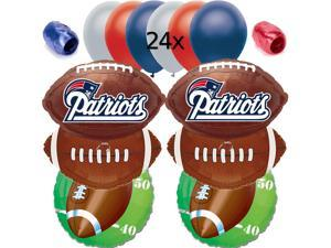 New England Patriots NFL Football Anagram Balloons Decorating Ultimate Pack 32pc