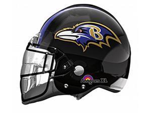 Baltimore Ravens Helmet NFL 24in Jumbo Super Shape Foil Balloon Football Party