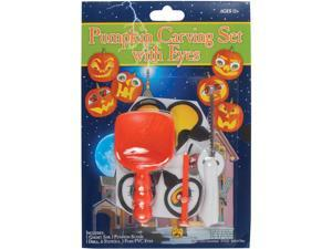 Loftus 12pc Deluxe Pumpkin Carving Kit w Stencils & PVC Eyes