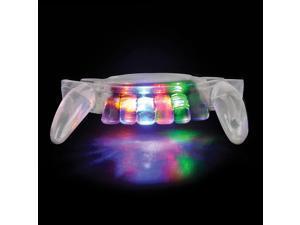 Rinco Light up Flashing Vampire Teeth Halloween Glow