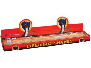 "Loftus Assorted Life-Like Wooden Snake 19.5"" Prop"