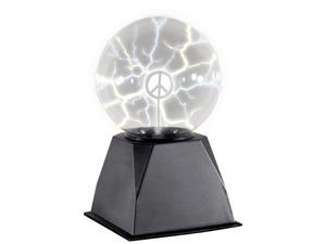 "Loftus Glowing Plasma Lamp with Inserts 5"" Animated Prop, Black"