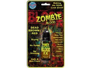 Tinsley Transfers Drying Zombie Fake Blood FX Dead Brown Red .25oz