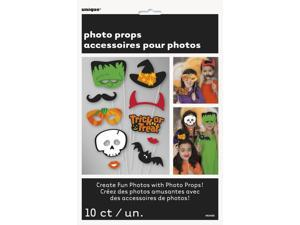 "Unique Halloween Photo Props 9"" Prop, 10 Pack"