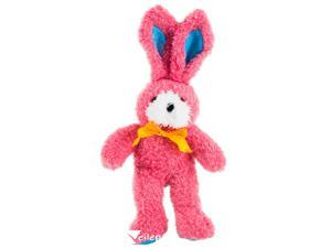 "US Toy Fluffy Ribbon Easter Bunny Toy Gift 12"" Plush Animal, Pink"