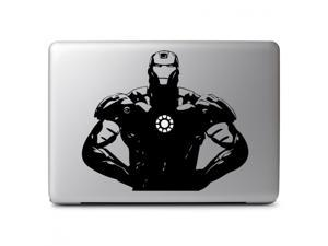 "Iron Man with Glowing Arc Reactor  Vinyl Protective Skin Decal Sticker for Apple Macbook Air & Pro 13"" 15"" 17"" & Laptop & Tablet & Wall & Car & Motorcycle"