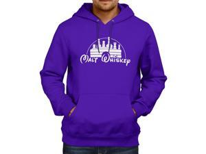 Malt Whiskey Walt Disney Parody Unisex Hooded Sweater Fleece Pullover Hoodie
