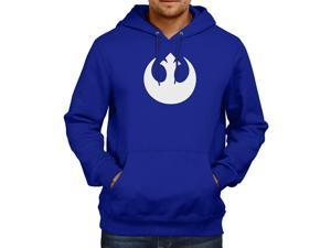 Star Wars Rebel Alliance Logo Unisex Hooded Sweater Fleece Pullover Hoodie