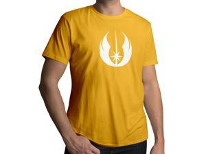 Men's Star Wars Jedi Order Logo 100% Cotton Crew Neck T-Shirt