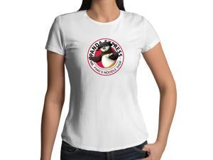 Women's Kung Fu Panda Express - Mr. Pings Noodle Shop 100% Cotton Crew Neck T-Shirt