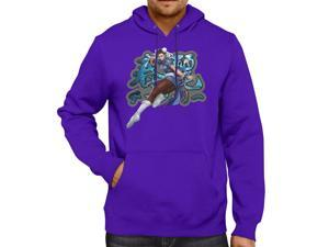 Street Fighter Chun-Li Unisex Hooded Sweater Fleece Pullover Hoodie