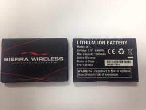 NEW OEM SIERRA WIRELESS W-1 W1 W801 OVERDRIVE PRO W802 754S BATTERY ORIGINAL
