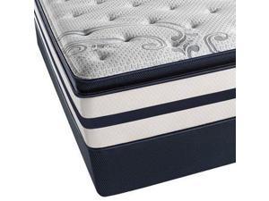 Full Simmons Beautyrest Recharge Kenosha Place II Plush Pillow Top Mattress