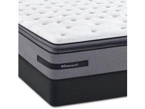 King Sealy Posturepedic Plus Barrett Court III Plush Euro Pillow Top Mattress