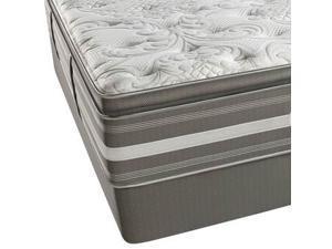 King Simmons Beautyrest Recharge World Class Phillipsburg II Plush Pillow Top Mattress