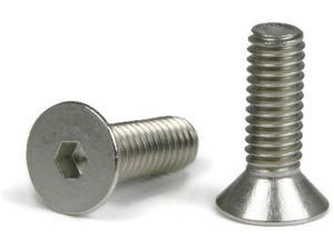 "Flat Head Socket Cap Screw 18-8 Stainless Steel 1/2-13 x 1-3/4"" Qty 100"