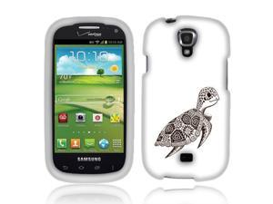 Samsung Stratosphere 2 I415 Hard Case Cover - Cute Turtle