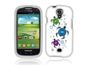 Samsung Stratosphere 2 I415 Hard Case Cover - Turtles