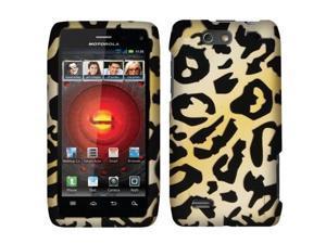 Motorola Droid 4 XT894 Hard Case Cover - Cheetah Texture