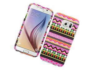 Samsung Galaxy S6 Hard Case Cover - Elegant Tribal Patter 177