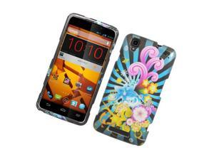 ZTE Max N9520 Hard Case Cover - Colorful Fireworks 2D Glossy