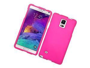 Samsung Galaxy Note 4 Hard Case Cover - Hot Pink Texture