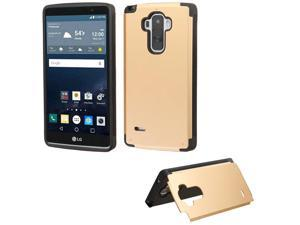 For LS770 G Stylo Gold Inverse Advanced Armor Stand Protector Cover