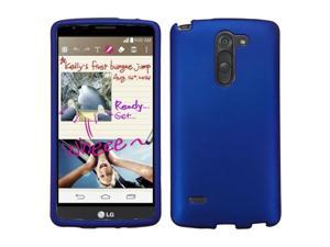 For G STYLUS Titanium Solid Dark Blue Hard Snap On Phone Protector Cover Case