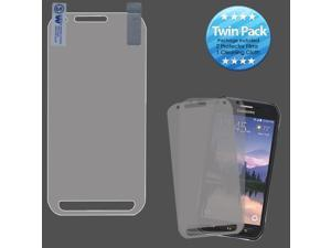 For G890A Galaxy S6 Active Screen Protector Cover Film - Twin Pack
