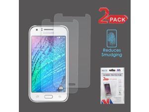 Samsung J7 Galaxy  - 2X Custom-Fit Anti-Glare And Clear Preminum Screen Guard Protector