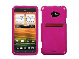 HTC EVO One 4G LTE Hard Case Cover - Hot Pink