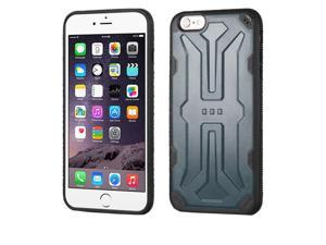 Apple Iphone 6 Plus 5.5 inches iPhone 6s Plus 5.5 inches 2nd Gen 2015 Hard Cover and Silicone Protective Case - Hybrid Natural SLATE/ Black DefyR