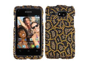 Kyocera Event C5133 Hard Case Cover - Jeweled Jaguar w/ Sparkle Rhinestones