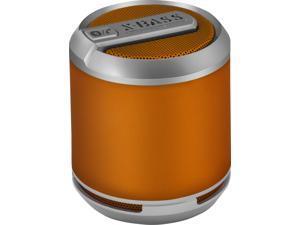 DIVOOM Bluetune Solo Loud Wireless Rechargeable Bluetooth Portable Speaker (Orange)