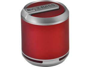 DIVOOM Bluetune Solo Loud Wireless Rechargeable Bluetooth Portable Speaker (Red)