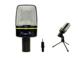 Kaxidy Mini Microphone  for PC Computer Laptop