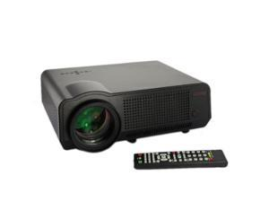 HD LED Home Theater Projector 1080P Video Projector Support Home Moive, Games, Meeting, Teaching (LED-86 Updated, Black)