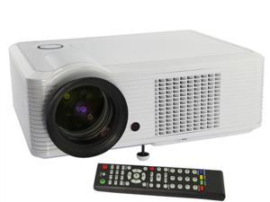 Bravolink HD 1080P Home Theatre LED Projector, 30000 Hours, 800*600 2000 Lumens with HDMI & Connect TV