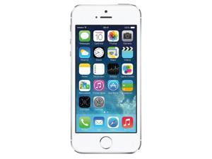 Apple iPhone 5S Silver 16GB Unlocked GSM Smartphone