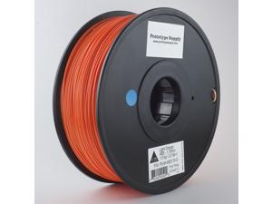Prototype Supply ABS 3D Printing Filament 3mm Orange 1kg/roll (2.2 pounds)