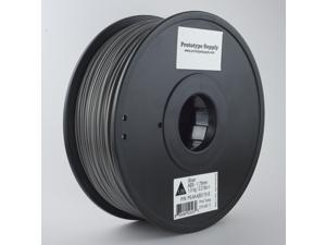 Prototype Supply ABS 3D Printing Filament 1.75mm Silver 1kg/roll (2.2 pounds)
